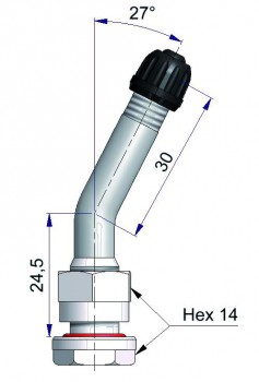 Вентиль латунный б/к  41684-68